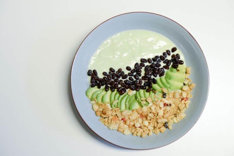 Avocado Smoothie Bowl